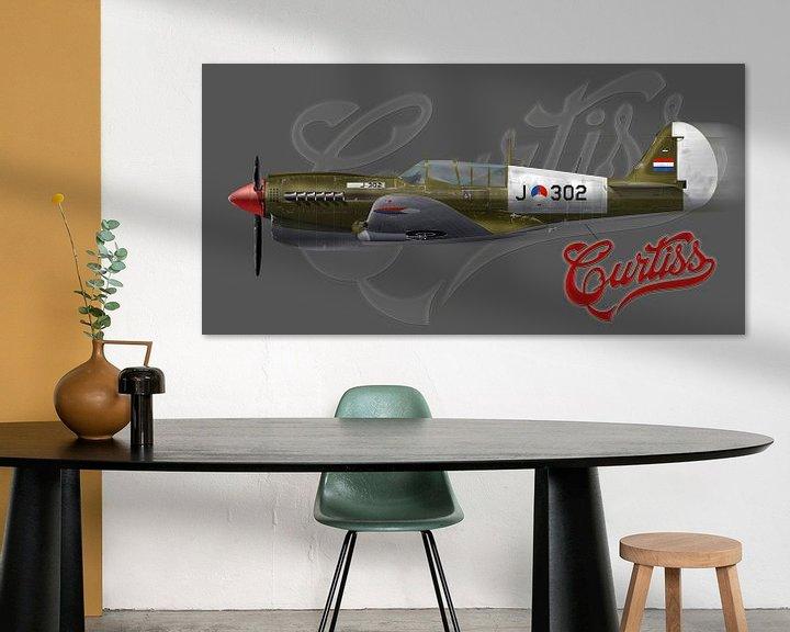 Beispiel: Curtiss P-40 KNIL von Nop Briex
