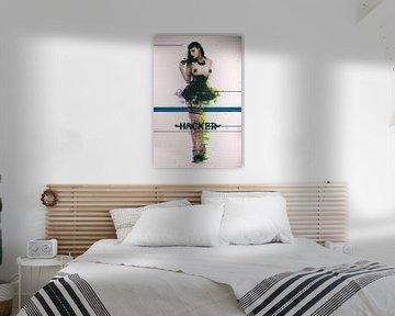 Glitch art, model