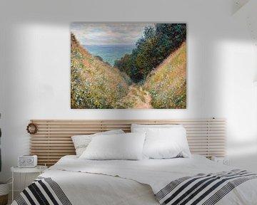 Weg bij La Cavée, Pourville, Claude Monet
