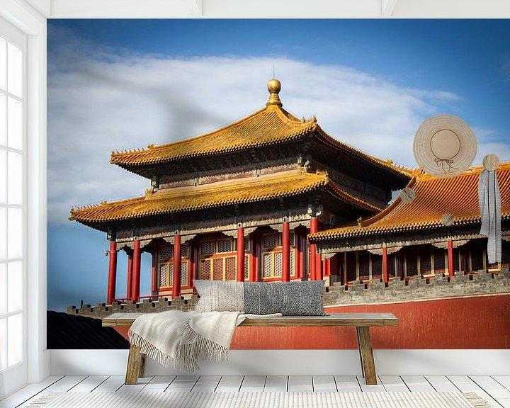 Beispiel fototapete: Peking, verbotene Stadt von Florian Kampes