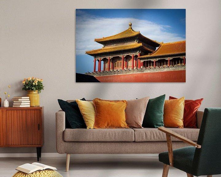Beispiel: Peking, verbotene Stadt von Florian Kampes