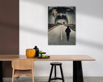Road To Somewhere - Surrealisme Print
