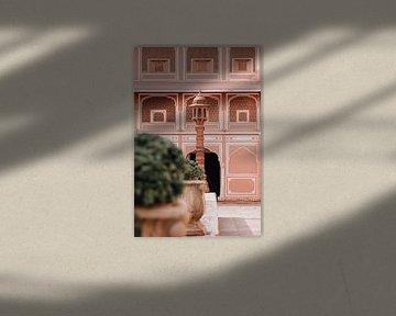 Architektur Stadtpalast | Jaipur, Indien | Reisefotografie von Lotte van Alderen