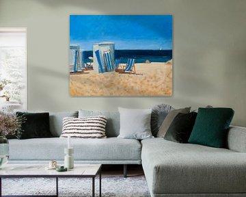 Katwijk am Meer von Antonie van Gelder Beeldend kunstenaar