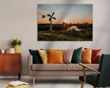 Bosman Windwatermolen van FotoMariek