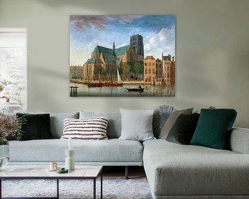 Rotterdam, Sint Laurenskerk, Jan ten Compe - 1730