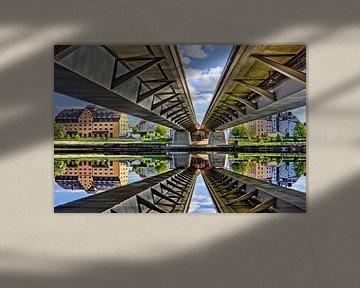 Eiserne Brücke Regensburg von unten von Roith Fotografie