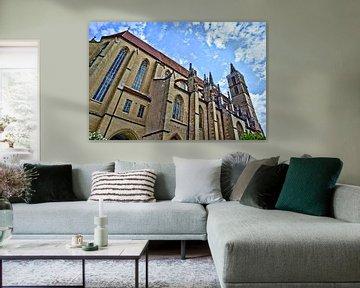 Kathedrale Rothenburg ob der Tauber von Roith Fotografie