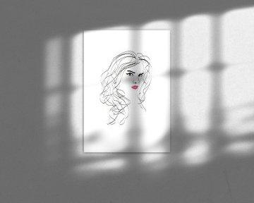 Poster Frau - Mädchen von Studio Tosca