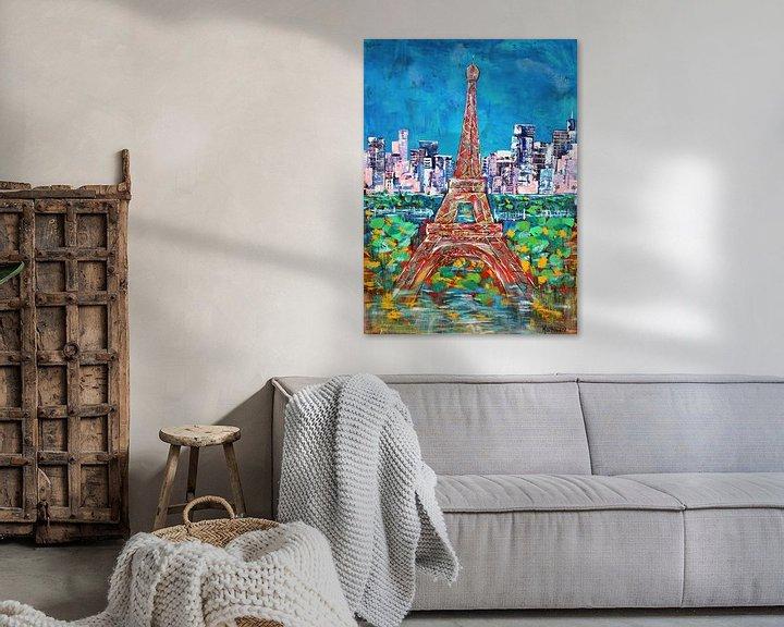 Beispiel: Der Eiffelturm von Kathleen Artist Fine Art