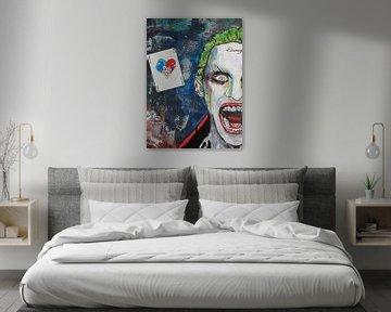 Das Joker-Gesicht von Kathleen Artist Fine Art