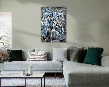 Das Geisterpferd von Kathleen Artist Fine Art