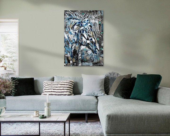 Beispiel: Das Geisterpferd von Kathleen Artist Fine Art