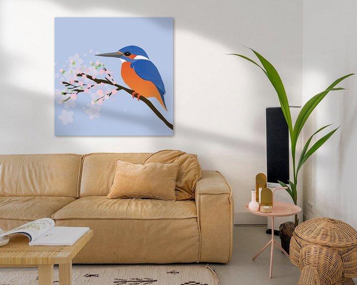Beispiel: Der Eisvogel von Bianca Wisseloo