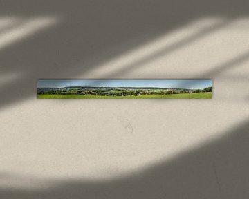 Panorama des Geul-Tals in Süd-Limburg von John Kreukniet