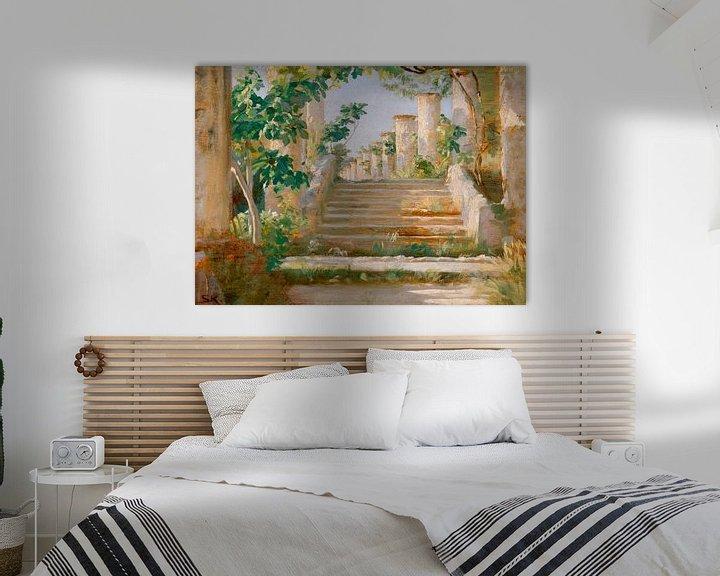 Beispiel: Loggia in Ravello, Peder Severin Krøyer