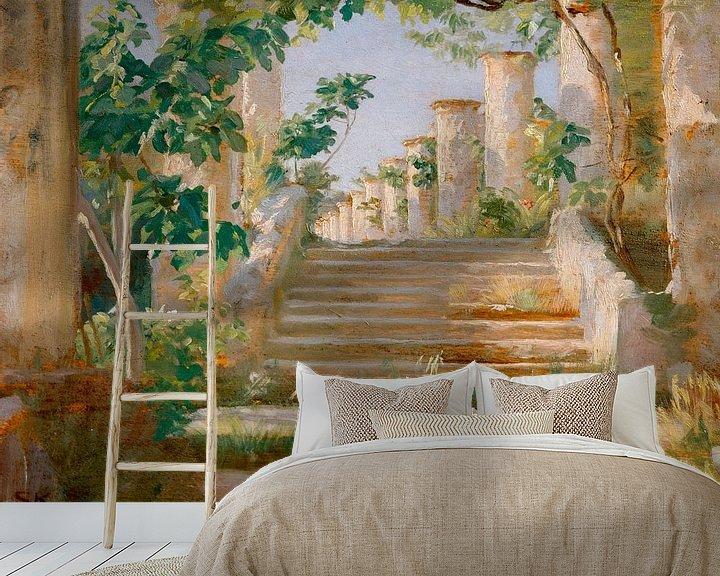 Beispiel fototapete: Loggia in Ravello, Peder Severin Krøyer