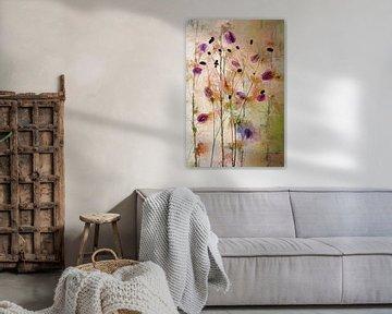 Aufguss von Blumen von Saskia Dingemans