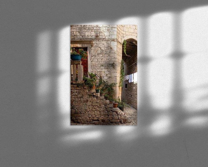Sfeerimpressie: Straten van Trogir van Nina Rotim