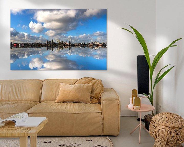 Sfeerimpressie: Rotterdam The Other Skyline van Brian Morgan