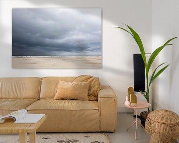Storm op schiermonnikoog van Karijn | Fine art Natuur en Reis Fotografie