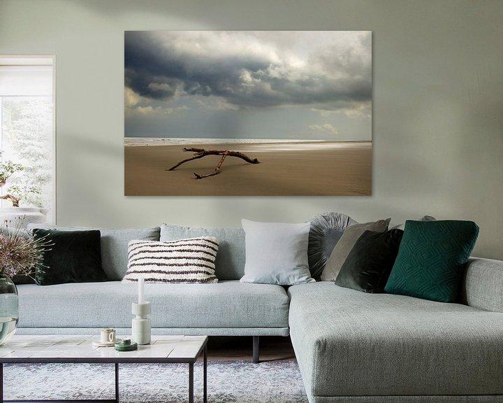 Sfeerimpressie: Strandhout op Schiermonnikoog van Karijn   Fine art Natuur en Reis Fotografie