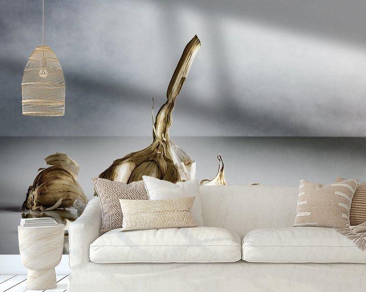 Sfeerimpressie behang: Knoflook, klaar voor verwerking van Gerry van Roosmalen