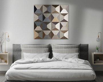 Abstracte samenstelling 995 van Angel Estevez