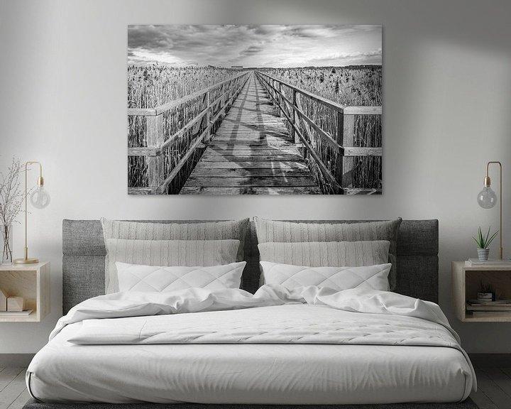 Sfeerimpressie: steiger door riet bij Federsee van MindScape Photography