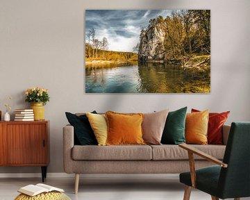 De Amalienfelsen aan de oevers van de Donau van MindScape Photography