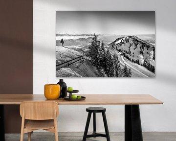 Panorama boven de wolken van MindScape Photography