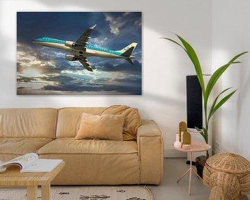 KLM Cityhopper PH EXD, Embraer ERJ-190 van Gert Hilbink