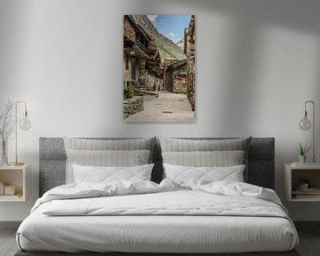 Bonneval-sur-Arc, Frankrijk van Martine Dignef