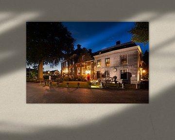 Landhaus Zuylenburgh und Logement Swaenenvecht (B&B) in Oud-Zuilen von Michel Geluk