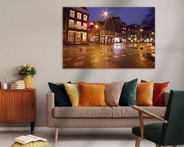 Amsterdam bei Nacht von Nisangha Masselink