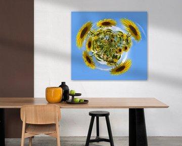 Planet Sonnenblume von Ans Bastiaanssen