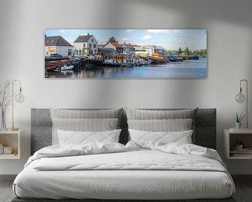 Breda - Panoramafoto Belcrum Haven van I Love Breda