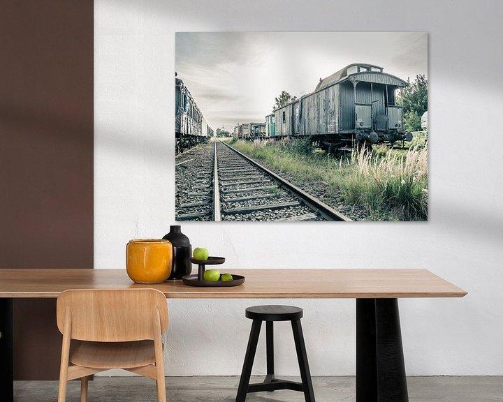 Beispiel: Aufgegebene Züge/Wagen von Art By Dominic