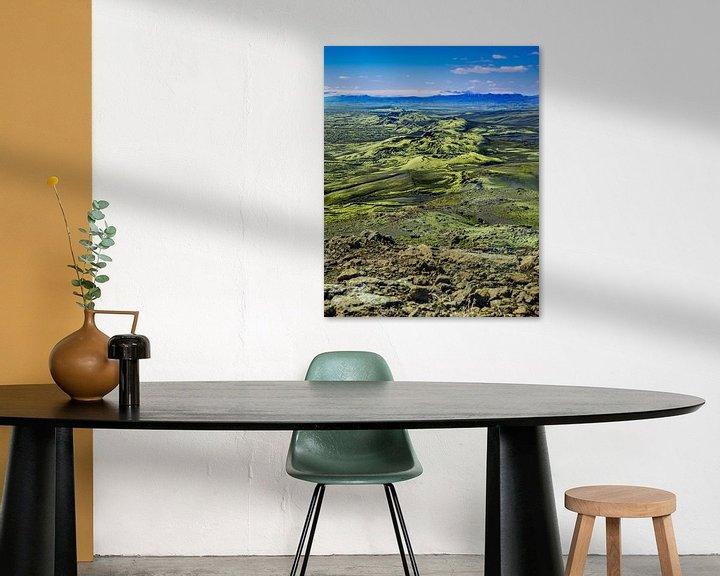 Sfeerimpressie: De Laki kraters in Ijsland tijdens de zomer van 2020 van Kevin Pluk