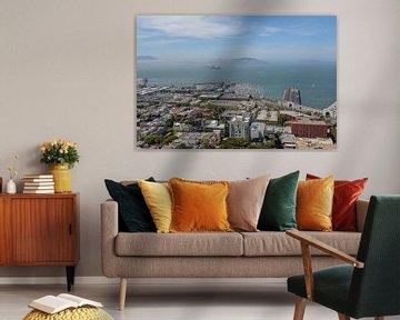 San Francisco Bay von Florian Kampes