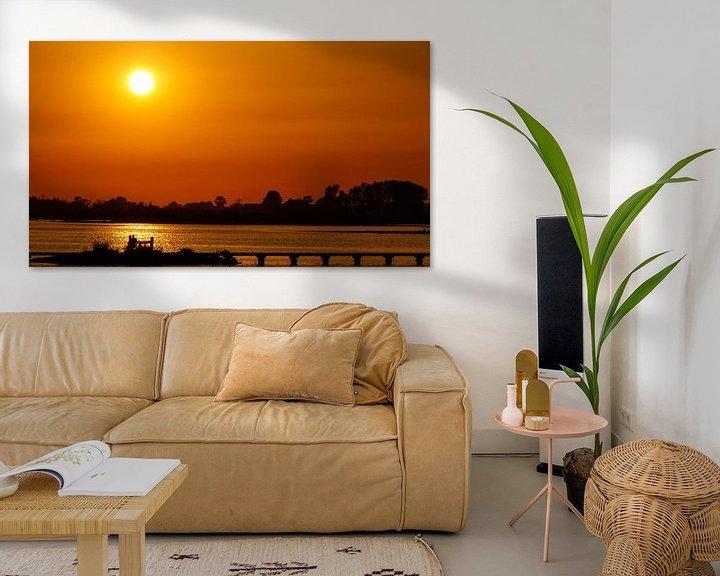 Beispiel: Liebe und Sonnenuntergang von Anjo ten Kate