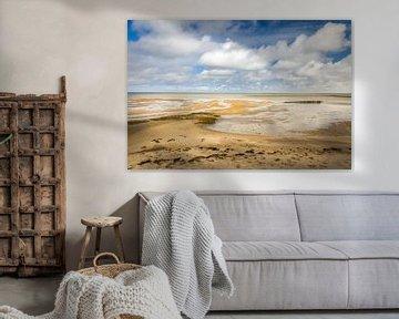 Wattlandschaft bei Keitum, Sylt von Christian Müringer