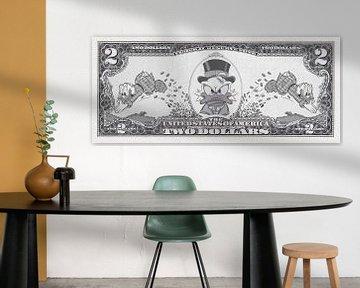 Geld bewegt die Welt von Rene Ladenius Digital Art
