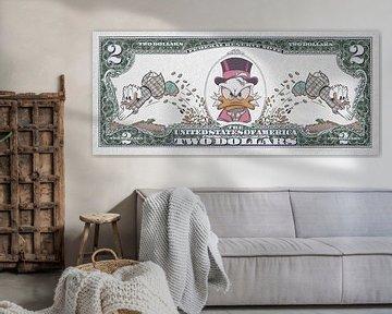 Money makes the world go round van Rene Ladenius Digital Art