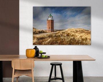 Leuchtturm Quermarkenfeuer in Kampen, Sylt von Christian Müringer