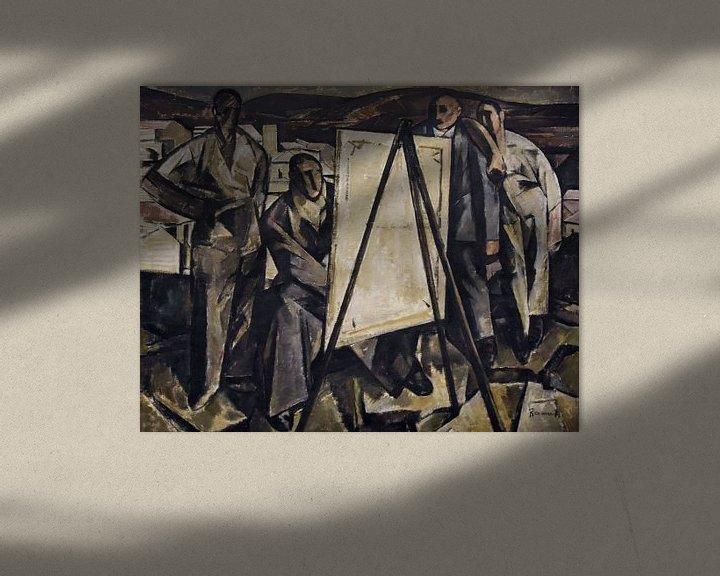 Beispiel: Ramah, Der Maler - 1922 von Atelier Liesjes