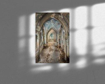 Schöne Kirche mit Tiefe von Perry Wiertz