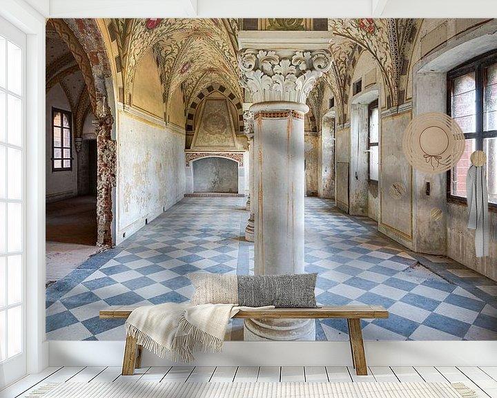 Beispiel fototapete: Schlosssaal mit vielen Details von Perry Wiertz