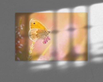 Hooibeestje in pastel tinten van Roosmarijn Bruijns