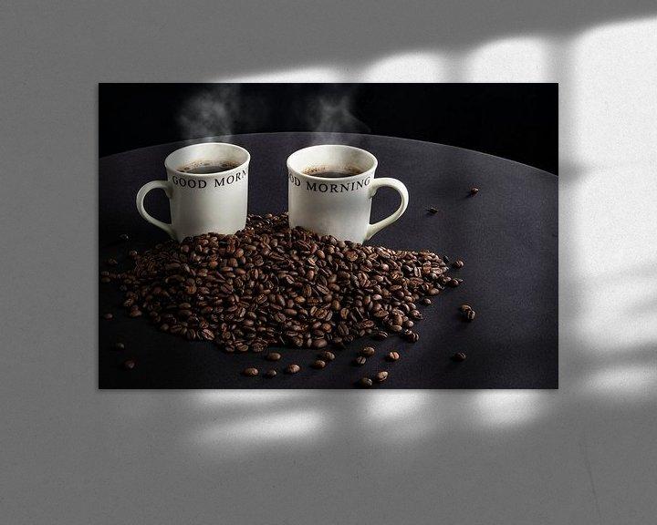 Sfeerimpressie: Koffie en bonen van Ton de Koning
